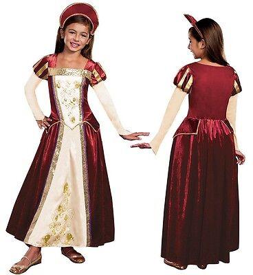 Royal Tudors Maiden Princess Queen Girl Henry the 8th Anne Boleyn Costume Dress - Anne Boleyn Costume