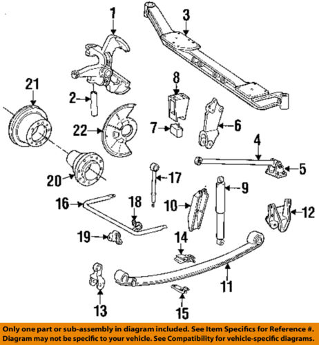 Ford F 250 Front Suspension Diagram