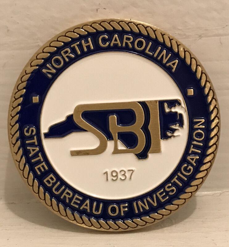 North Carolina State Bureau of Investigation/NC SBI/Challenge Coin