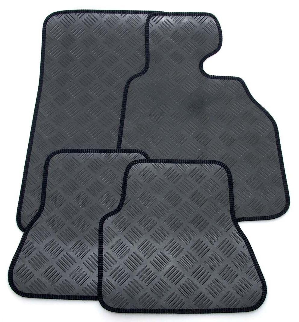 Rubber car floor mats uk - Perfect Fit Black Durable Rubber Car Floor Mats To Fit Jeep Grand Cherokee 05 10 5 5 Of 12