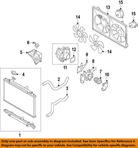 MAZDA OEM 13-15 CX-5-Engine Cooling Fan Motor PE0115150A | eBayeBay