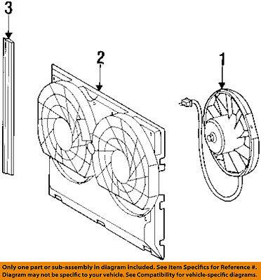 MERCEDES OEM 90-93 300E Condenser-Fan Blade 0005008593