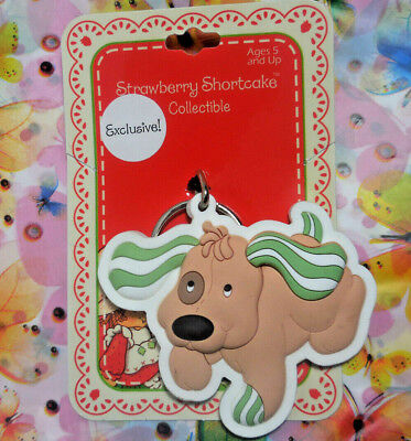 PUPCAKE Strawberry Shortcake PUPPY DOG Keychain -