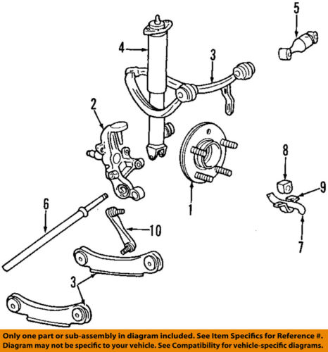 Lincoln FORD OEM Stabilizer Bar-Rear Suspension-Link Assembly F5OZ5A486A |  eBayeBay