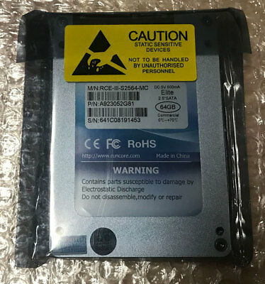 New 64GB SSD 2.5