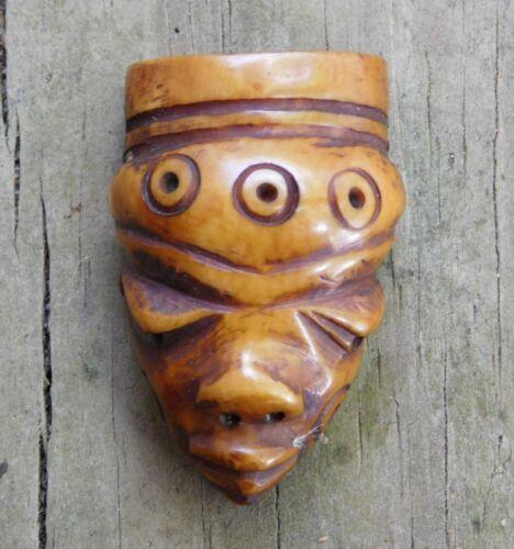 Antique African Pende Tribe Ikhoko Pendant
