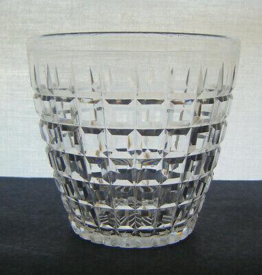 VICTORIAN CUT GLASS TEA CADDY MIXING BOWL