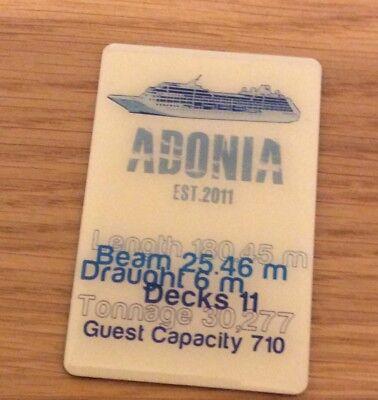 Fridge Magnet Adonia Ship