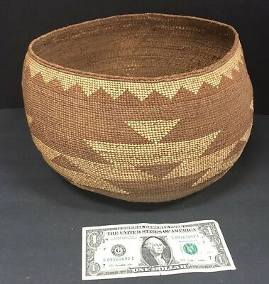 1920s Hupa/Karuk Area Cooking Basket Large