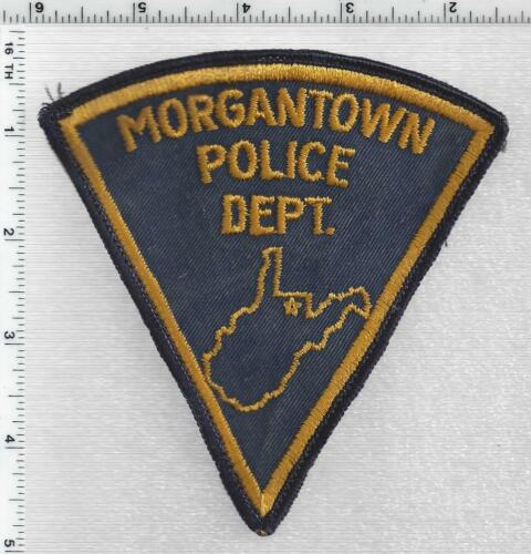 Morgantown Police (West Virginia) 1st Issue Uniform Take-Off Shoulder Patch