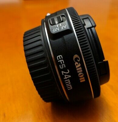 Canon EF-S 24mm f/2.8 STM Wide Angle Lens Fast 2 day shipping