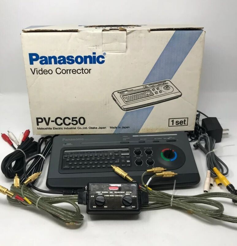 Panasonic PV-CC50 Video Color Corrector and Titler Character Generator