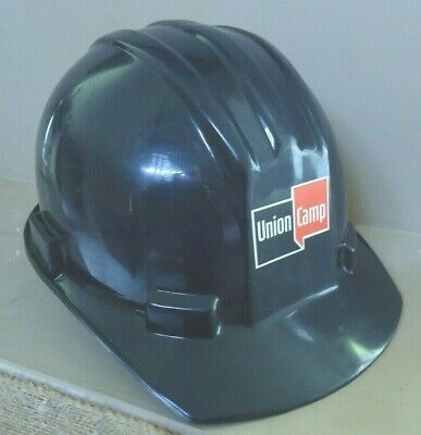 Vintage Bullard Plastic Hard Boiled Hard Hat 5100 Noble - Union Camp -