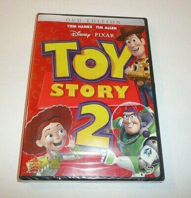 Toy Story 2 on DVD - Tom Hanks, Tim Allen - Disney Pixar Movie Buzz Woody