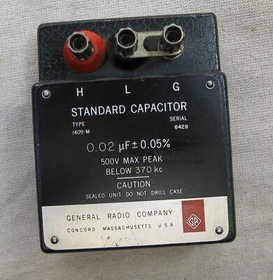 General Radio Standard Capacitor Model 1409-m