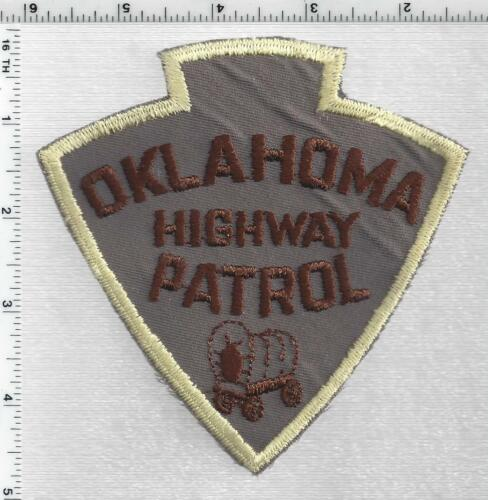 Highway Patrol (Oklahoma) 3rd Issue Shoulder Patch