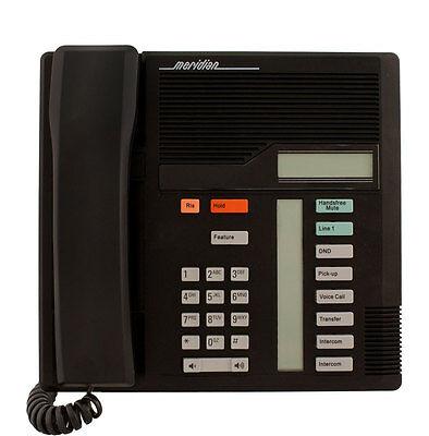 Refurbished Nortel Meridian Norstar M7208 Phone NT8B30 Black - Norstar Meridian M7208