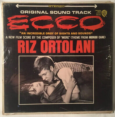 Ecco Soundtrack LP Vinyl Record Sealed 1965 First U.S. Pressing Riz Ortolani
