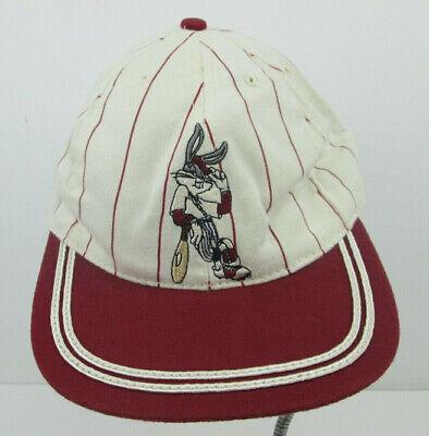 Vtg 91 Bugs Bunny vintage baseball outfit pinstripe Baseball Hat Snapback USA - Bugs Bunny Outfit