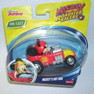 Fisher Price Mickey Mouse Hot Rod NIP