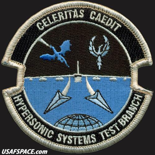 USAF HYPERSONIC SYSTEMS TEST BRANCH - DOD - Edwards AFB, CA - ORIGINAL VEL PATCH