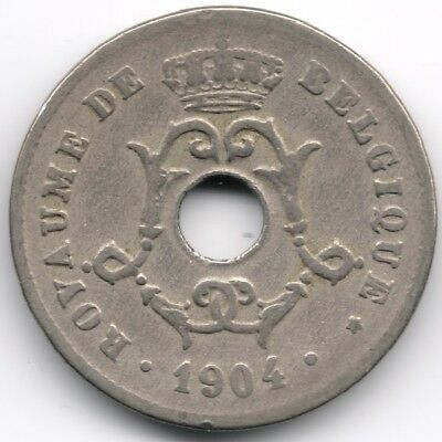 Belgium : 10 Centimes 1904 French Legend