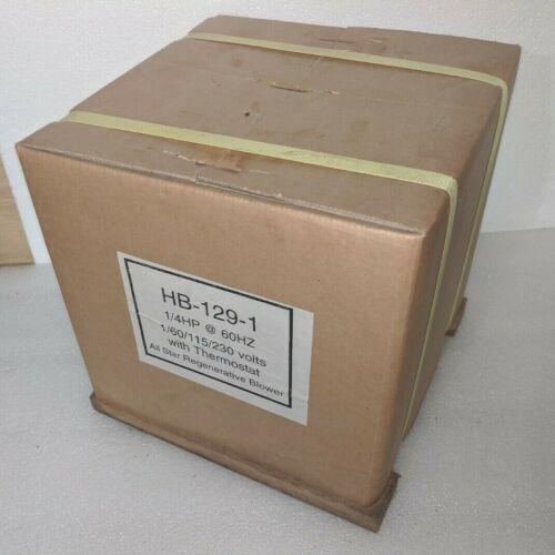 All Star Regenerative Blower HB-129-1 Brand New
