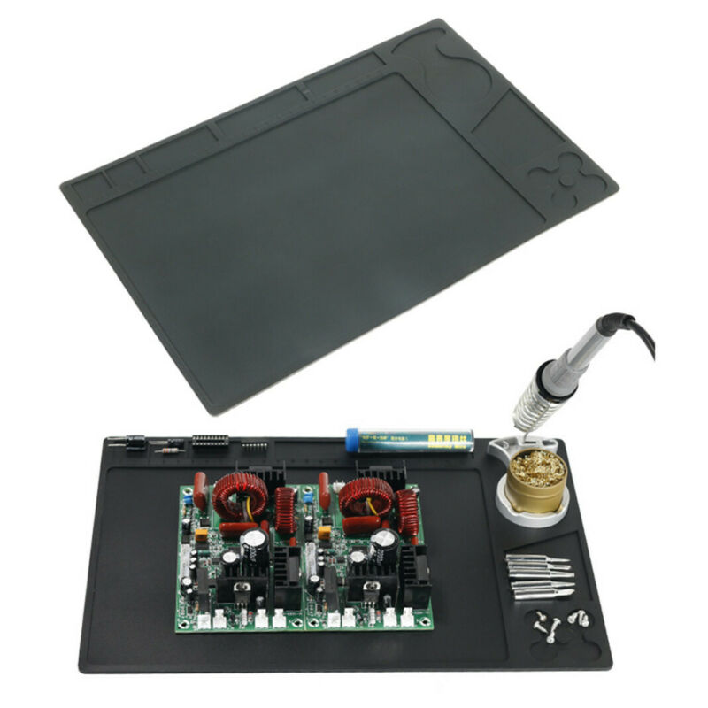 Heat Resistant Insulation Silicone Soldering Mat Repair Phone Welding Work Pad