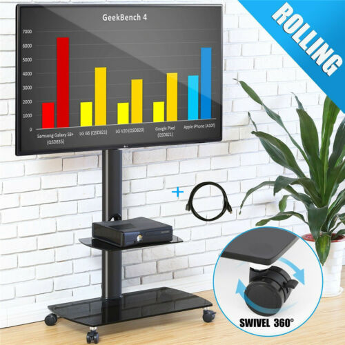 universal floor tv stand adjustable with mount