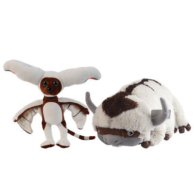 The Last Airbender APPA AVATAR & & Momo Plush Stuffed Animals Toy Xmas Gift ()
