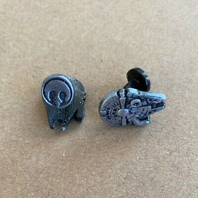 STAR WARS CUFFLINKS MILLENNIUM FALCON AND GIFT BAG BNIB