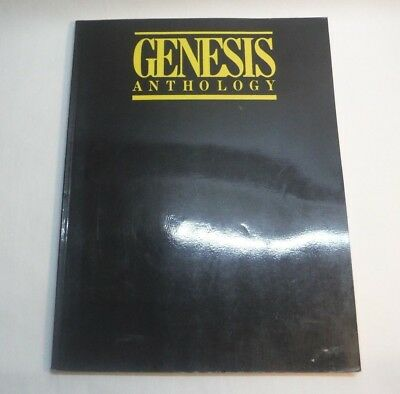 Bq10/  GENESIS Anthology Notenbuch Songbook. Warner Bros 1983.