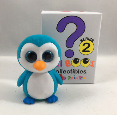 Ty Beanie Boos Mini Boo Series 2 Collectible Figure    Ice Cube Penguin  2 Inch