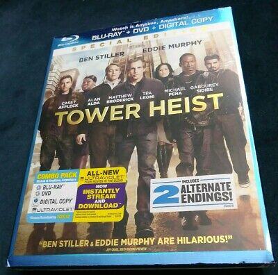 TOWER HEIST [Blu-ray + Slipcover] VERY GOOD