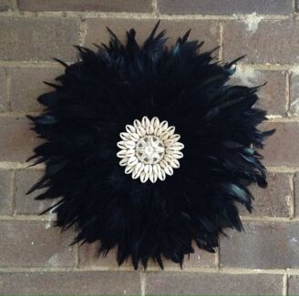 40cm diameter black juju hat