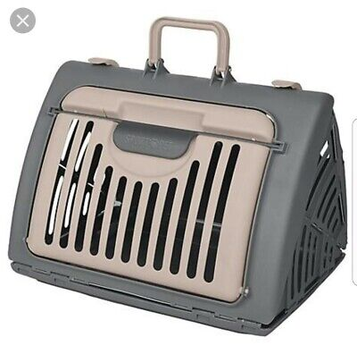 PetSport Pet Carrier Collapsible Foldable Dog Cat Carrier for Travel Portable
