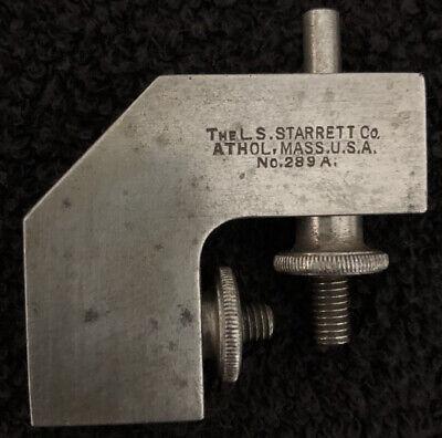 Starrett Lot 289-a Attachment For Combination Square Set Machinist