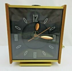 Vintage Stancraft High Time Ceiling Alarm Clock Time Retro Mid Century USA