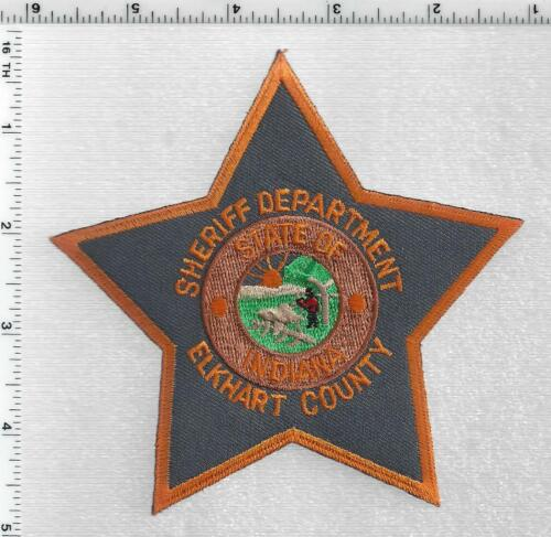 Elkhart County Sheriff Dept (Indiana) 3rd Issue Shoulder Patch