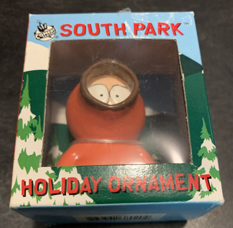 Vintage 1998 South Park Kenny Christmas Holiday Ornament Comedy Central