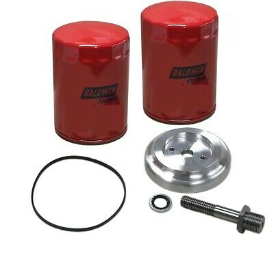Spin On Oil Filter Adapter Conversion Kit For Ih Farmall H Super H Tractor