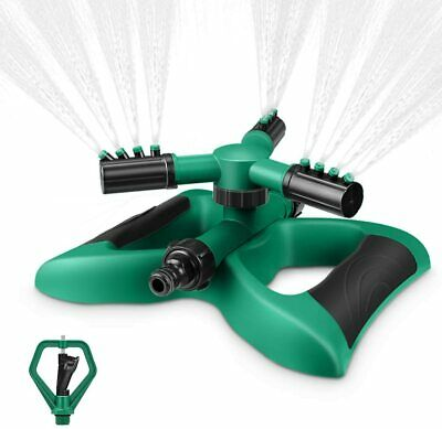MagicFun Sprinkers Irrigation Automatic Spray Rotating 360° 3 Modes Of