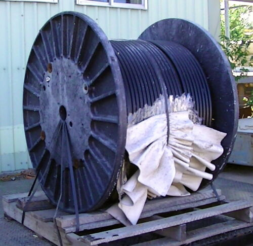 Industrial 4 copper wire Optical Cable Corp Cable spool Indoor/Outdoor 1000 ft