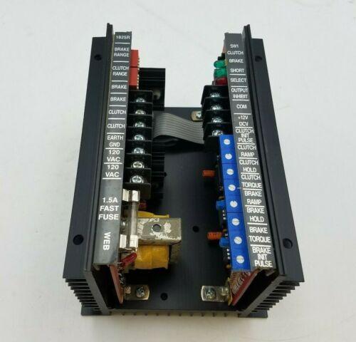 Warner MCSD 701-9510 Clutch Brake Controller Power Supply Mechanical Robotics