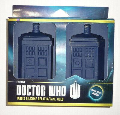 ThinkGeek BBC Doctor Who TARDISI Silicone Gelatin Cake Mold