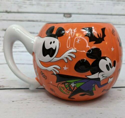 Disney Parks 2020 Mickey Minnie Not So Scary Halloween Party Ceramic Mug New