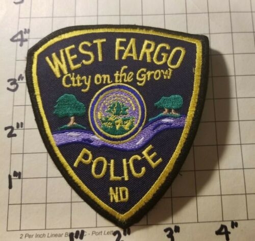 West Fargo (ND) Police Department Patch
