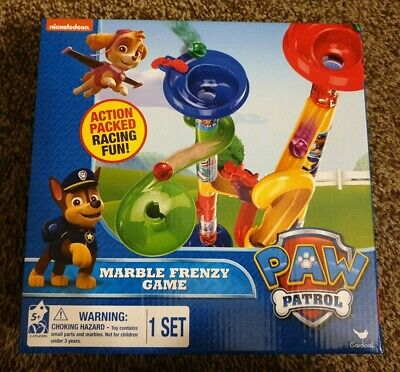 New Paw Patrol Marble Frenzy Game Set - Nickelodeon Age 5+