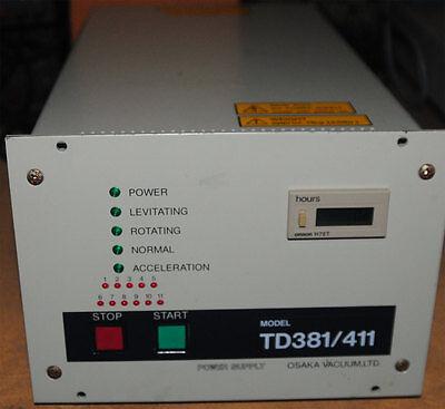 Osaka Td381411 Turbo Vacuum Pump Controller