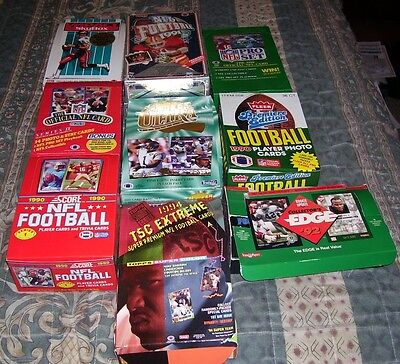 100  Football Cards In Sealed Packs 20 Years Old Or Older